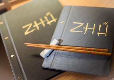 Cartas Restaurante Zhu