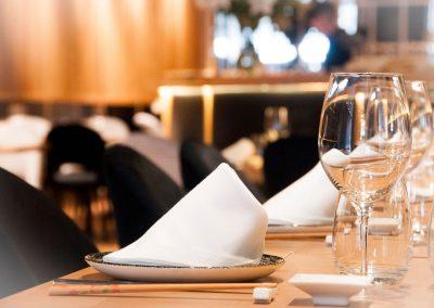 Mesa Restaurante Zhu